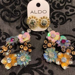 Aldo colorful earrings